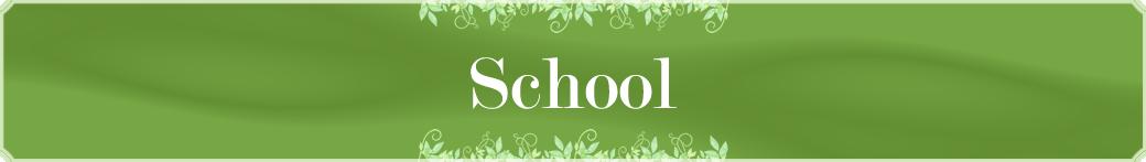 School 様々なCourseをご用意しております。自分にぴったりのコースを受講できます。
